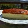 蒸し焼きチーズケーキ