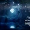 水に映った月(映画「禅」)